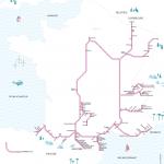 Nachtzuglinien in Frankreich (C) SNCF